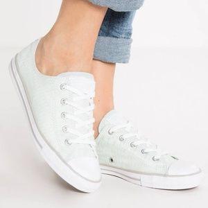 Converse all star dainty stripe sneakers chuck